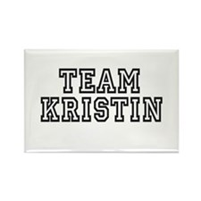 Team Kristin ~ Rectangle Magnet (10 pack)