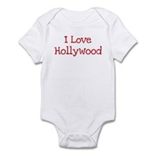 I love Hollywood Infant Bodysuit