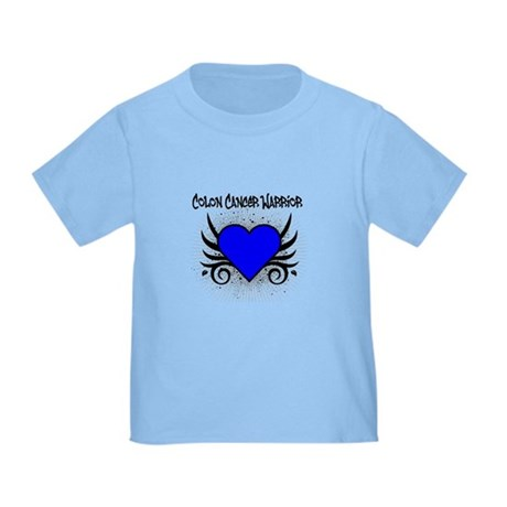 Colon Cancer Warrior Toddler T-Shirt