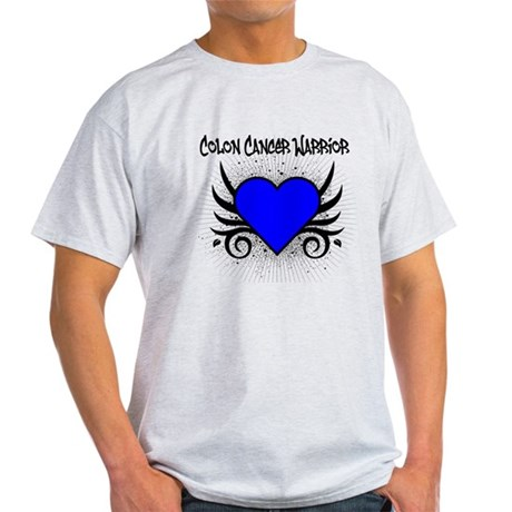 Colon Cancer Warrior Light T-Shirt