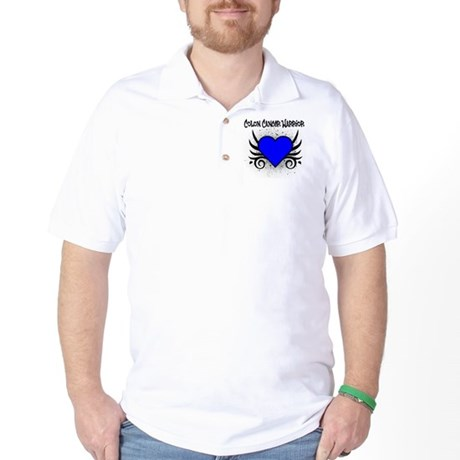 Colon Cancer Warrior Golf Shirt