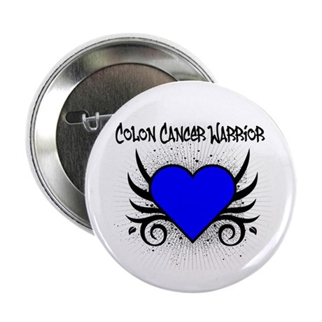 "Colon Cancer Warrior 2.25"" Button (100 pack)"