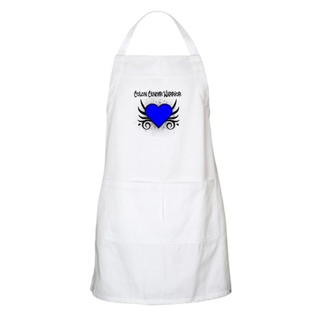 Colon Cancer Warrior BBQ Apron