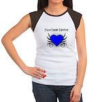 Colon Cancer Survivor Women's Cap Sleeve T-Shirt