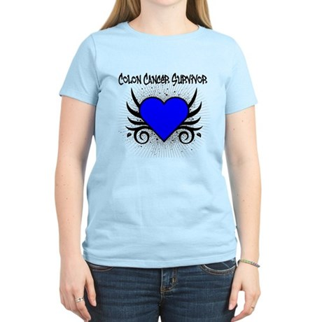 Colon Cancer Survivor Women's Light T-Shirt