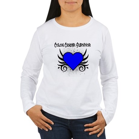 Colon Cancer Survivor Women's Long Sleeve T-Shirt