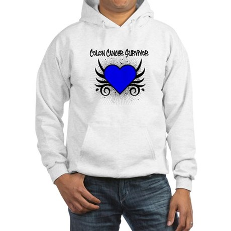 Colon Cancer Survivor Hooded Sweatshirt