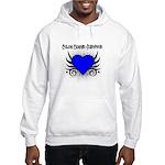 Colon Cancer Survivor Hooded Sweatshirt