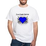 Colon Cancer Survivor White T-Shirt