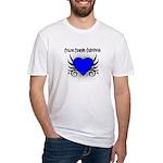 Colon Cancer Survivor Fitted T-Shirt