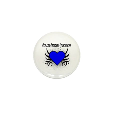 Colon Cancer Survivor Mini Button