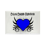 Colon Cancer Survivor Rectangle Magnet (10 pack)