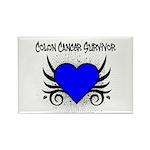 Colon Cancer Survivor Rectangle Magnet (100 pack)