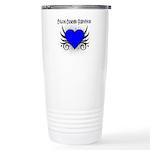 Colon Cancer Survivor Ceramic Travel Mug