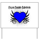 Colon Cancer Survivor Yard Sign