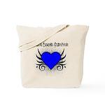 Colon Cancer Survivor Tote Bag