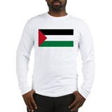 Flag of Palestine Long Sleeve T-Shirt