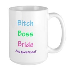 Bride, Any Questions Mug