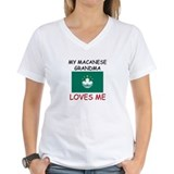 My Macanese Grandma Loves Me Shirt