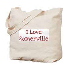I love Somerville Tote Bag