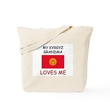 My Kyrgyz Grandma Loves Me Tote Bag