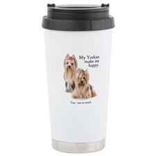 My Yorkies Thermos Mug