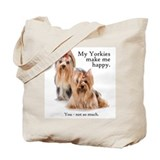 My Yorkies Tote Bag