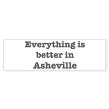 Better in Asheville Bumper Sticker (50 pk)