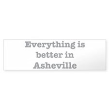 Better in Asheville Bumper Sticker (10 pk)