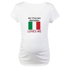 My Italian Grandma Loves Me Shirt