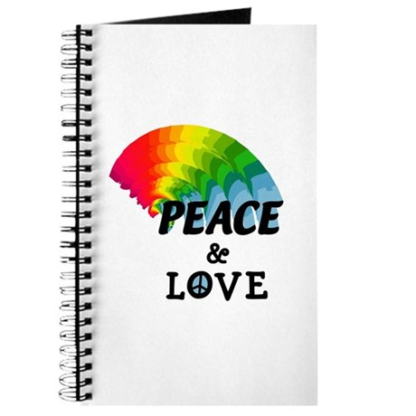Rainbow Peace and Love Journal