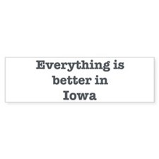 Better in Iowa Bumper Sticker (10 pk)