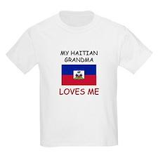 My Haitian Grandma Loves Me T-Shirt