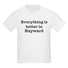 Better in Hayward Kids Light T-Shirt