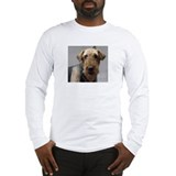 Unique Airedale dog Long Sleeve T-Shirt