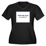 Trust Me I'm an Alchemist Women's Plus Size V-Neck