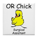 OR Chick SA Tile Coaster