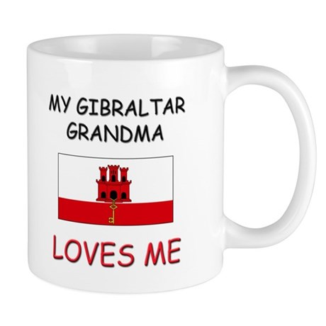 My Gibraltar Grandma Loves Me Mug
