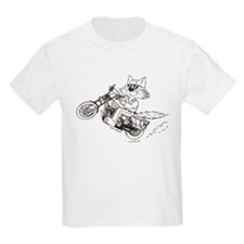 Motorcycle Cat T-Shirt