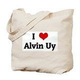 I Love Alvin Uy Tote Bag