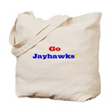 Go Jayhawks! Tote Bag