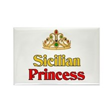 Sicilian Princess Rectangle Magnet (10 pack)
