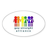 GSA People Oval Sticker (50 pk)
