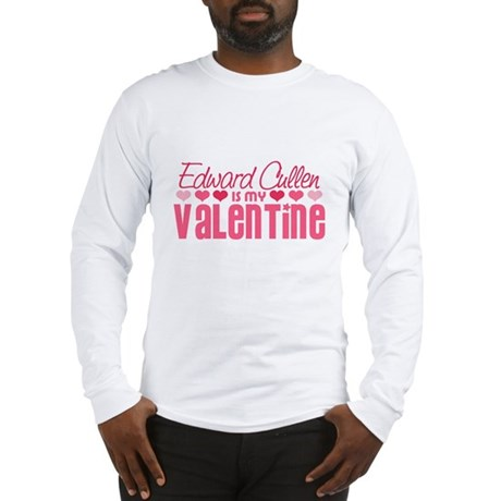 Edward Twilight Valentine Long Sleeve T-Shirt