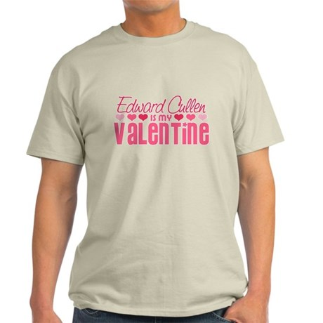 Edward Twilight Valentine Light T-Shirt
