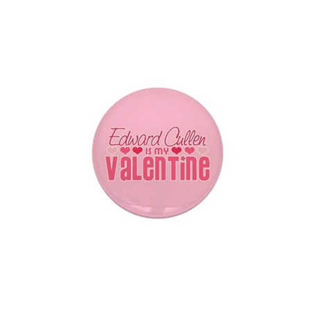 Edward Twilight Valentine Mini Button (10 pack)