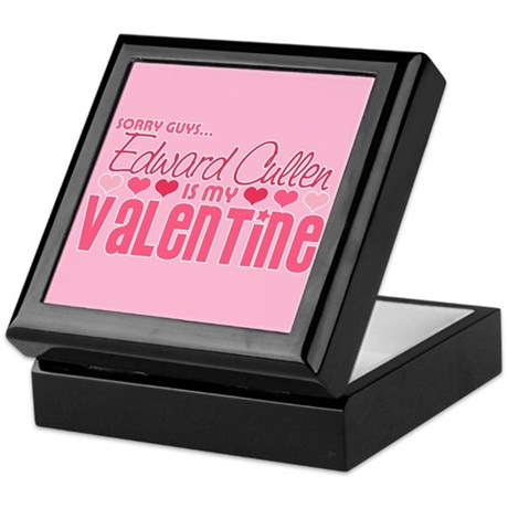 Edward Cullen Valentine Keepsake Box