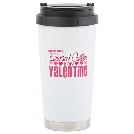 Edward Cullen Valentine Ceramic Travel Mug