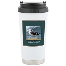 Seagulls Ceramic Travel Mug