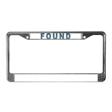 Lost & Found - License Plate Frame